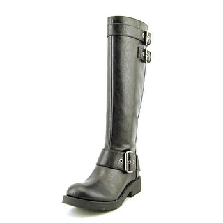 Nine West Aragosta Round Toe Synthetic Knee High Boot