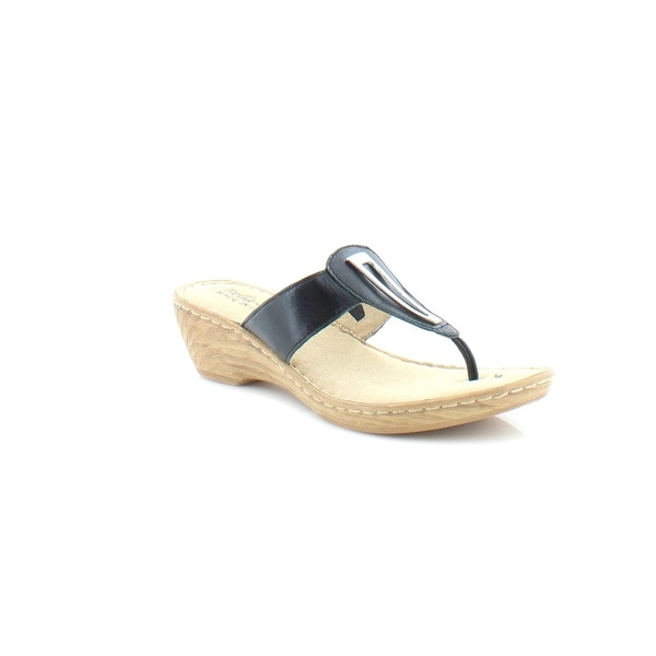 Bella Vita Sulmona Women's Sandals & Flip Flops Black