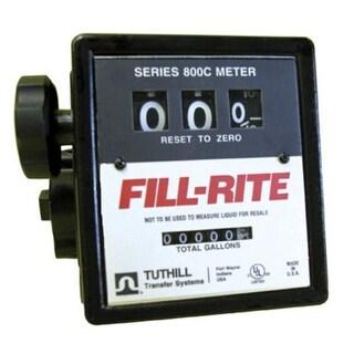 """Fill-Rite 807CMK Mechanical Fuel Meter, 3/4"""""""