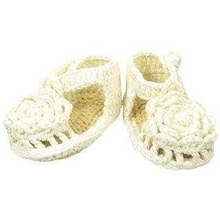 Baby Deer Infant Girls Crochet Sandals - 1 mo