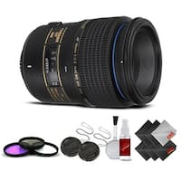 Tamron SP 90mm f/2.8 Di Macro Autofocus Lens for Nikon International Version (No Warranty) Base Kit - black