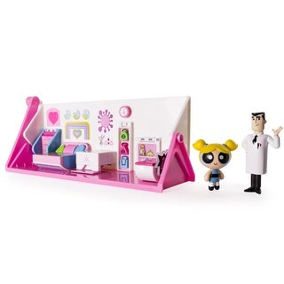 Power Puff Girls Deluxe Flippin Action Playset