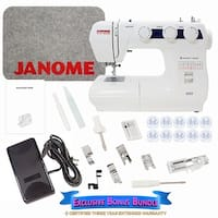 Janome 2222 Sewing Machine Includes Exclusive Bonus Bundle