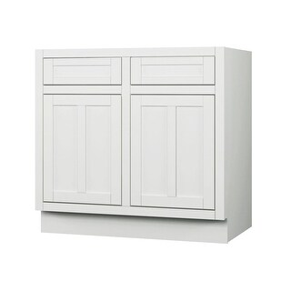 "Sagehill Designs VDB36S Veranda 36"" Double Door Sink Base - LINEN - N/A"