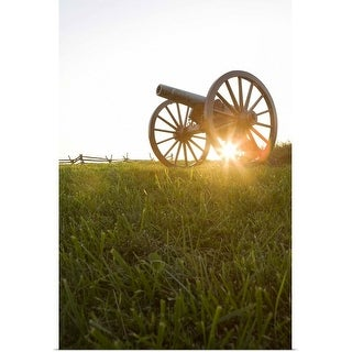 """""""Old cannon"""" Poster Print"""