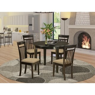 Link to Small Round 5-piece Kitchen Table and 4 Dining Chairs Similar Items in Dining Room & Bar Furniture
