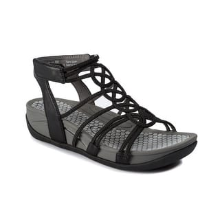 082bb35922c Baretraps Womens Kaylyn Gladiator Sandals Faux Leather · Quick View