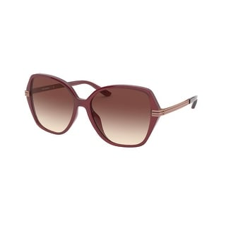 Link to Tory Burch TY9059U 183313 56 Bordeaux Woman Irregular Sunglasses Similar Items in Women's Sunglasses