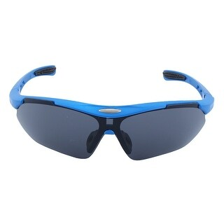 ROBESBON Authorized Outdoor Rimless Eyewear Frame Goggles Cycling Glasses Blue