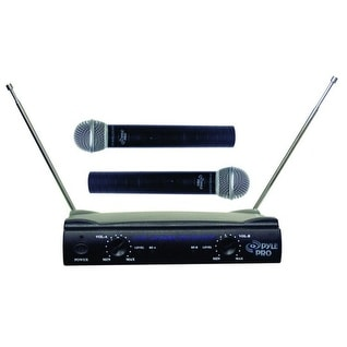 Pyle Pro Dual VHF Wireless Microphone