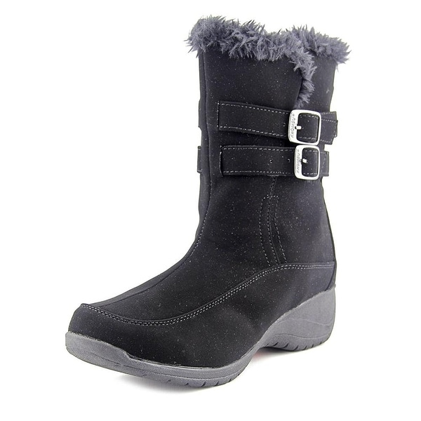 Khombu Womens SPICE Round Toe Ankle Cold Weather Boots