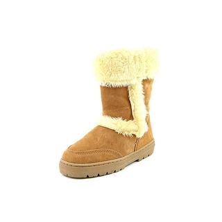 Style & Co Witty Round Toe Suede Snow Boot