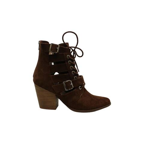 Steve Madden Womens Palermo Leather Closed Toe Ankle Fashion Boots