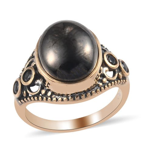 Shop LC 950 Copper Yellow Gold Oval Healing Pain Relief Black Shungite
