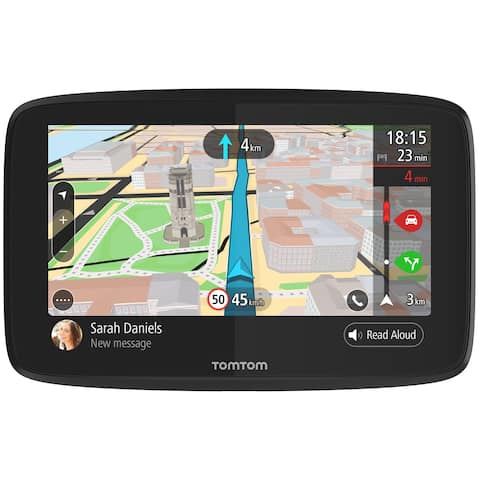 TomTom GO 620 6-inch Lifetime World Maps & Traffic Automotive GPS w/ Wi-Fi