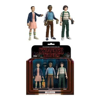 Stranger Things 3-Pack Collectible Action Figures, Pack 1