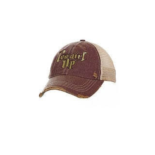 Cowgirl Up Western Hat Womens Trucker Adjustable OS Brown Tan CGH5142