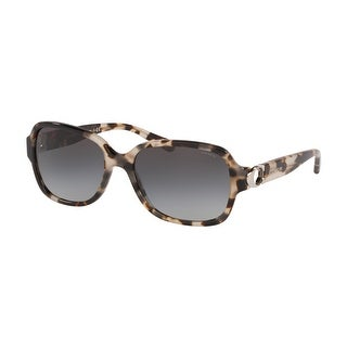 Link to Coach HC8241 55788G 57 Gray Tortoise Woman Rectangle Sunglasses Similar Items in Women's Sunglasses