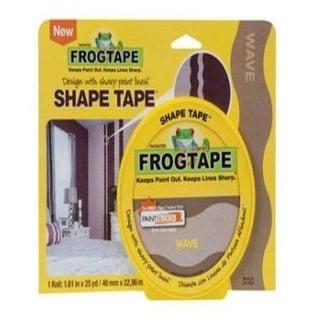 """FrogTape 282547 Shape Tape, 1.81"""" x 25 Yd"""