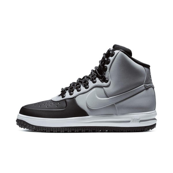 6b134bb24890c Shop Nike Lunar Force 1 Duckboot 18 Black/Wolf Grey (BQ7930 002 ...