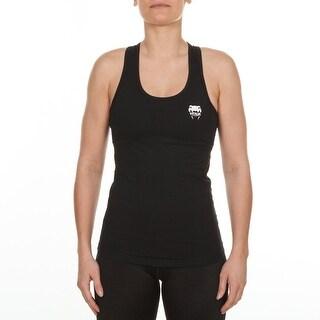 Venum Women's Essential Racer Back Athletic Tank Top - Black