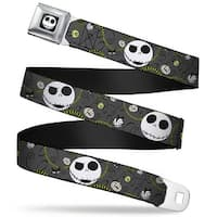 Jack Expression4 Full Color Nightmare Before Christmas Jack Expressions Seatbelt Belt