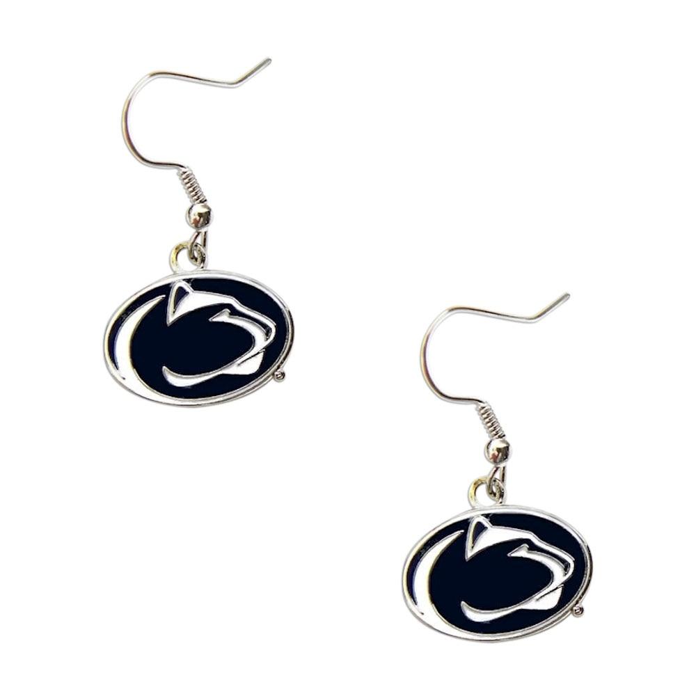 aminco Penn State Nittany Lions Dangle Logo Earring Set NCAA Charm Gift