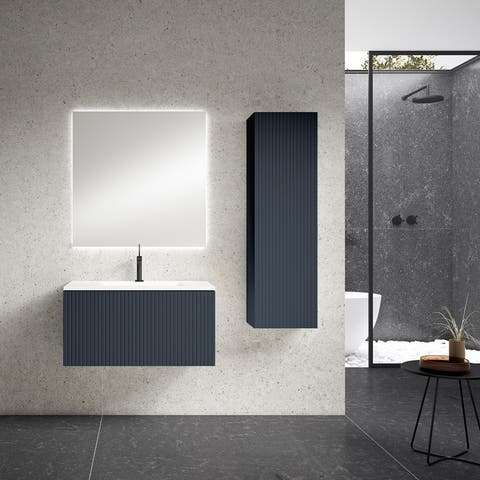 "Lucena Bath 32"" Bari Vanity With Ceramic Sink"