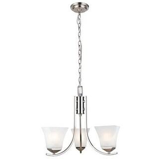 Design House 514828 Torino Transitional 3 Light Up Lighting 1 Tier Chandelier