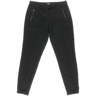 XOXO Womens Juniors Twill Zipper Pockets Ankle Pants - 00