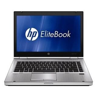 "HP EliteBook 8460P Intel Core i5-2520M X2 2.5GHz 4GB 320GB 14"" Win7, Silver (Certified Refurbished)"
