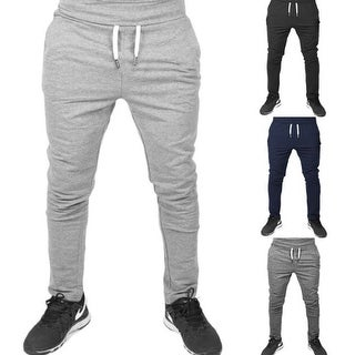 Link to Mens Joggers Sweatpants Casual Skinny Fit Athletic Activewear Cotton Pants With Pockets Similar Items in Pants