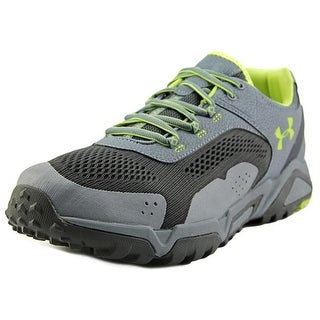 Under Armour Glenrock Low Men Round Toe Synthetic Gray Hiking Shoe