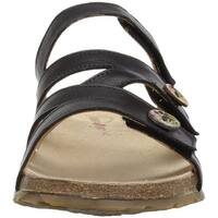 Haflinger Womens Sabrina Open Toe Casual Slide Sandals