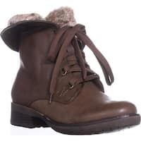Bare Traps Womens Henriette Closed Toe Mid-Calf Combat Boots