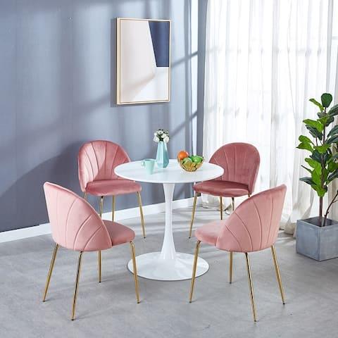 TiramisuBest 1+4 Dining Set,Office Set,Kitchen Set