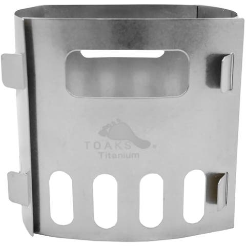 TOAKS Titanium Alcohol Stove Pot Stand FRM-02 - Outdoor Camping Camp - One Size
