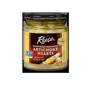 Reese 172213 Marinated Artichoke Hearts - Case of 36