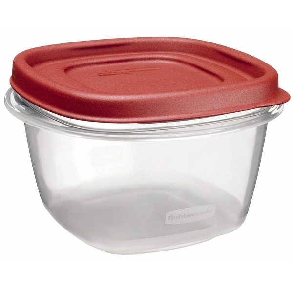 Rubbermaid 1777085 Food Storage Container, 2 Cup, Square