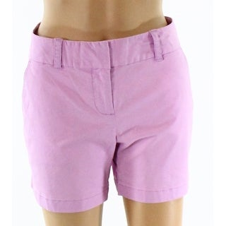 Vineyard Vines NEW Purple Womens Size 4 Dayboat Classic Solid Shorts
