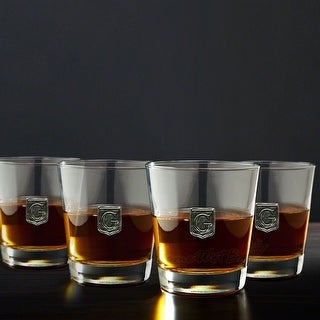 Link to Regal Crested On the Rocks Glasses, Set of 4 Similar Items in Glasses & Barware