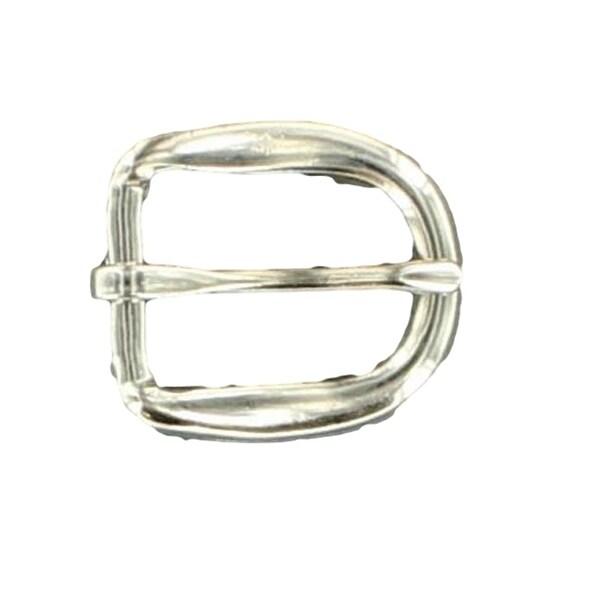 """M&F Western Belt Buckle Mens Metal Harness 3/4"""" Silver"""