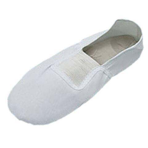 Unique Bargains Ladies Soft Dance Dancing Ballet Shoes - White