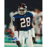 Everson Walls New York Giants Autographed 8x10 Photo Standing