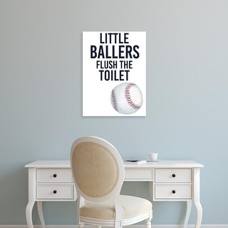 Easy Art Prints Studio W's 'Little Ballers IV' Premium Canvas Art