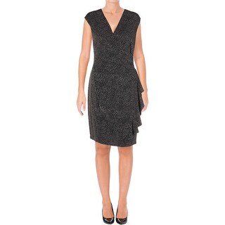 Anne Klein Womens Special Occasion Dress Party Surplice