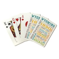 (Playing Card Deck - 52 Card Poker Size with Jokers)
