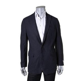 DKNY Mens Sportcoat Wool Blend Lined