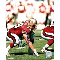 Signed Barton Harris San Francisco 49ers 8x10 Photo autographed