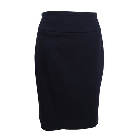 Alfani Women's Pencil Pull-On Straight Skirt - 4